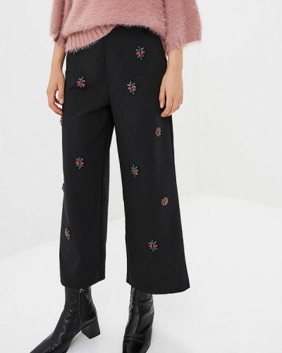 Черные брюки повседневные Zarina