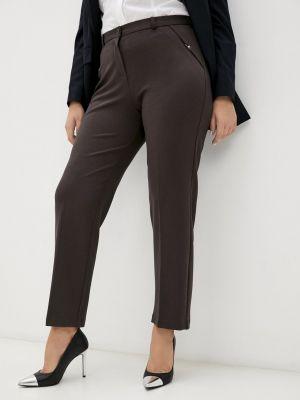 Прямые брюки - коричневые мадам т