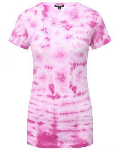 Хлопковая футболка - розовая Monrow