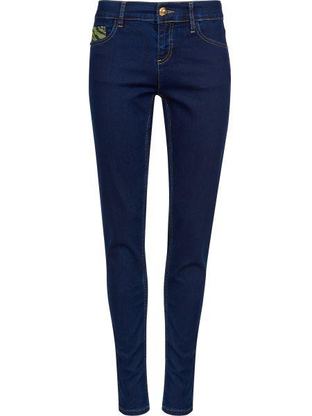 Хлопковые джинсы - синие Cavalli Class