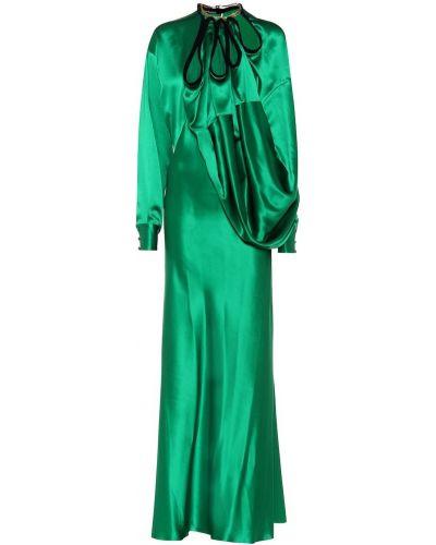 Вечернее платье макси шелковое Y Project