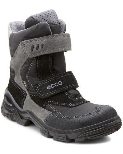 Ботинки мембранные серые Ecco