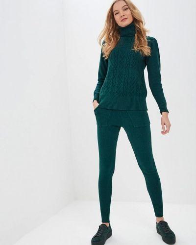 Зеленый костюм вязаный Moki