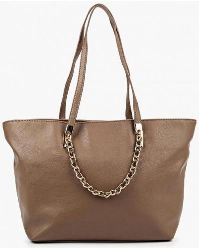 Кожаная сумка - коричневая Carpisa