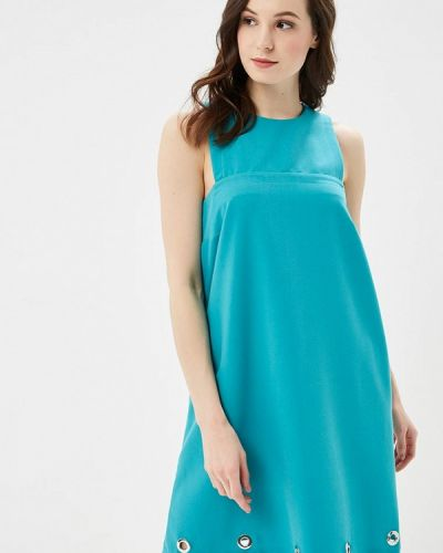 Платье бирюзовый итальянский Phard