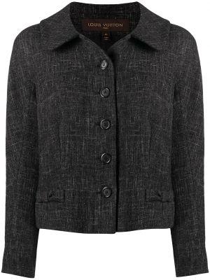 Прямой классический пиджак с подкладкой с воротником Louis Vuitton
