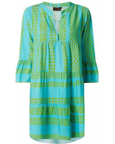 Sukienka rozkloszowana - zielona Miss Goodlife