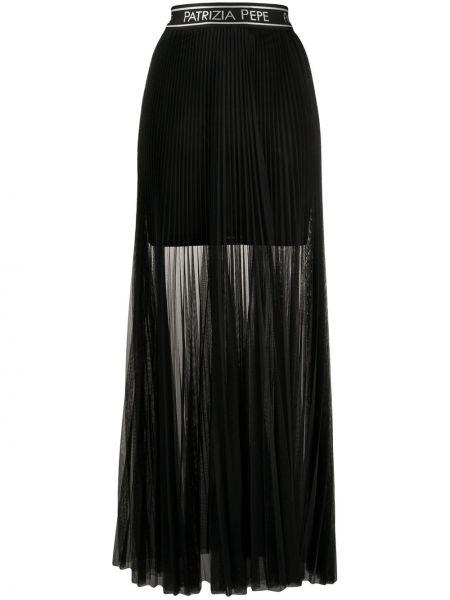Плиссированная юбка с завышенной талией макси Patrizia Pepe