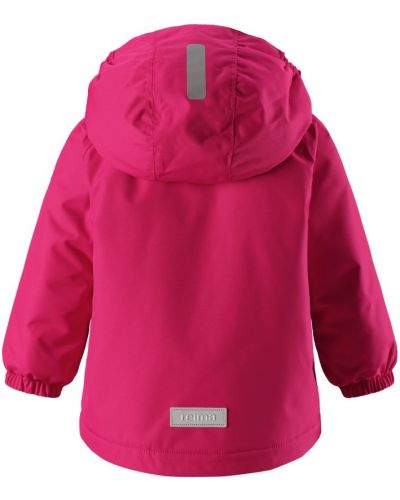 Зимняя куртка с капюшоном розовая Reima