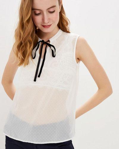 Блузка без рукавов белая весенний Modis