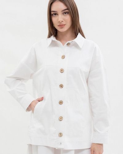 Пиджак - белый Maxa