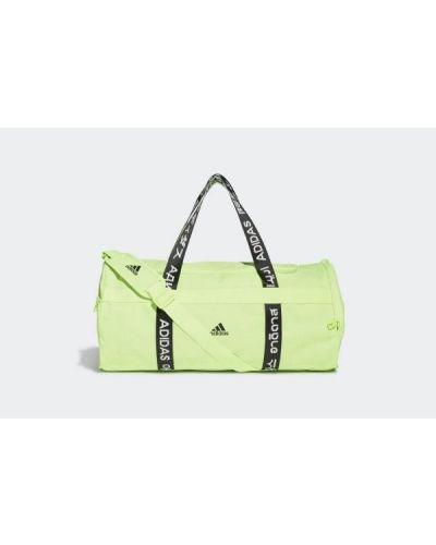 Zielona torebka materiałowa Adidas