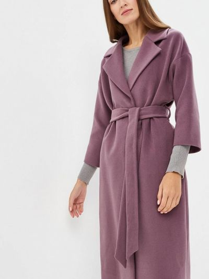 Пальто демисезонное розовое Ruxara