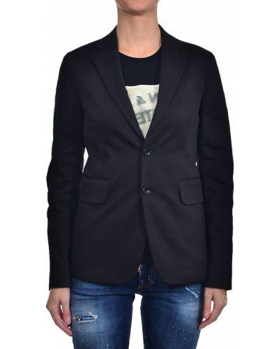 Хлопковый пиджак - черный Dsquared2