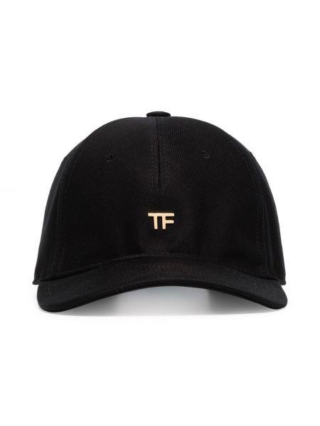 Czapka z logo czarny Tom Ford