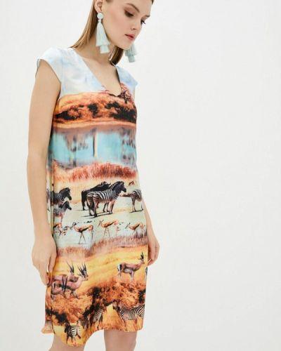Разноцветное платье Komilfo