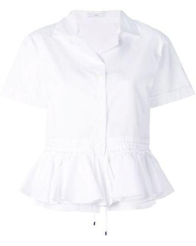 Классическая рубашка с оборками Tome