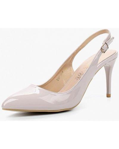 Розовые кожаные туфли Rio Fiore