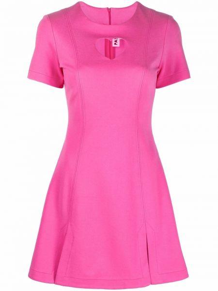 Расклешенное платье - розовое Paskal