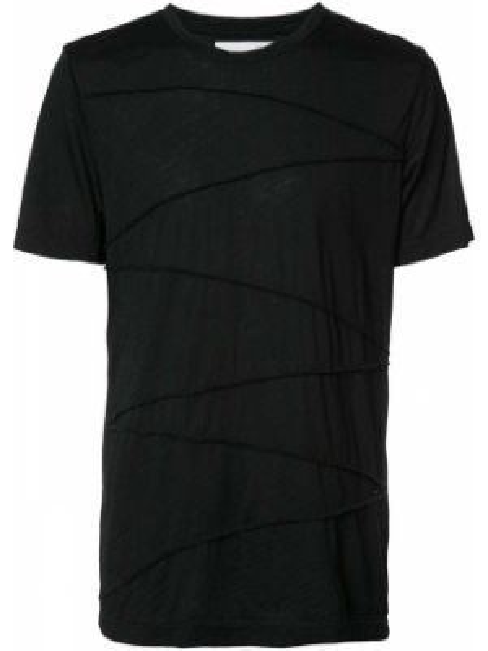Черная футболка Private Stock