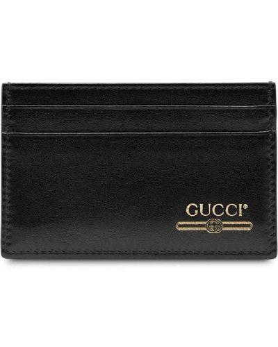 Визитница черная Gucci
