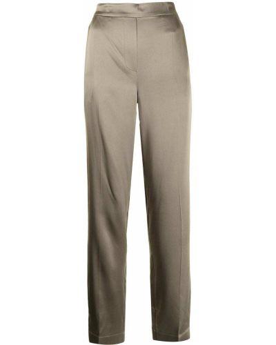 Коричневые прямые брюки Joseph