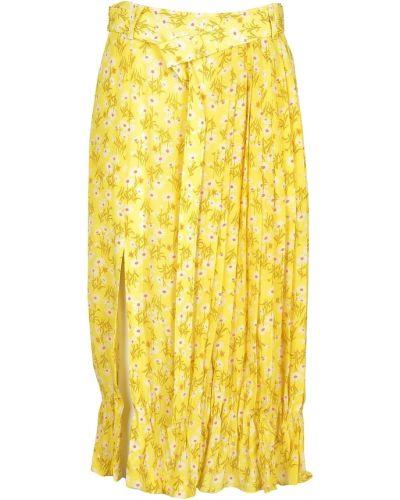 Żółta spódnica N°21
