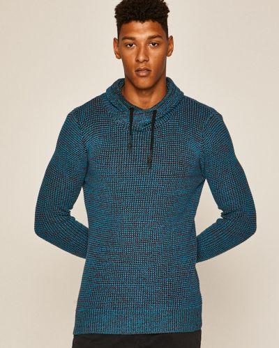 Sweter z kołnierzem z wzorem Medicine