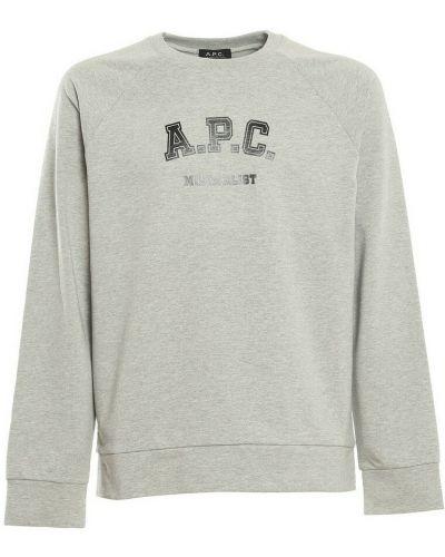 Szara bluza dresowa A.p.c.