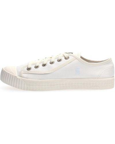 Białe sneakersy G-star