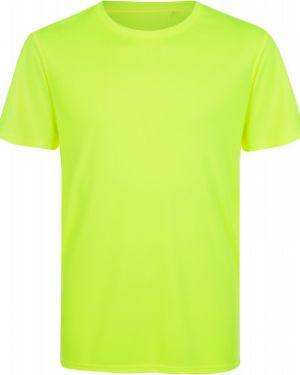 Прямая спортивная зеленая футболка для бега Demix