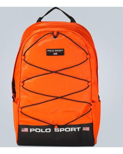 Plecak sportowy - pomarańczowy Polo Ralph Lauren