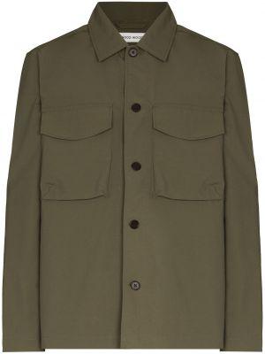 Куртка милитари - зеленая Wood Wood