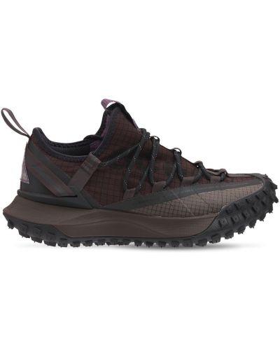 Кроссовки на шнуровке - коричневые Nike Acg
