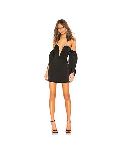 Платье мини на молнии с открытыми плечами Nbd