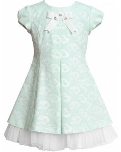 Платье с рукавами на молнии хлопковое Sly
