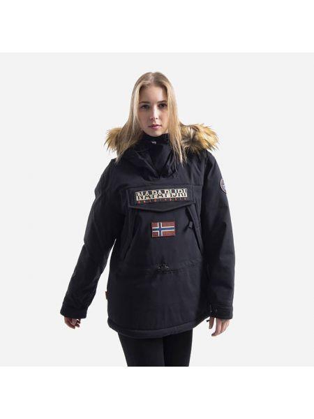 Черная куртка Skidoo Napapijri