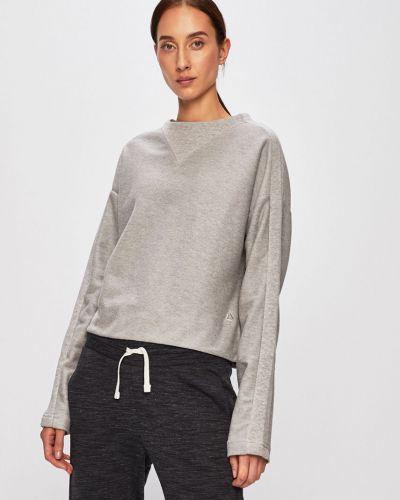 Sweter długo wełniany Reebok