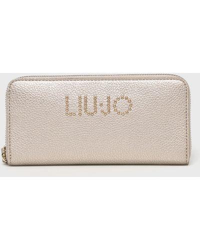 Кожаный кошелек на молнии Liu Jo