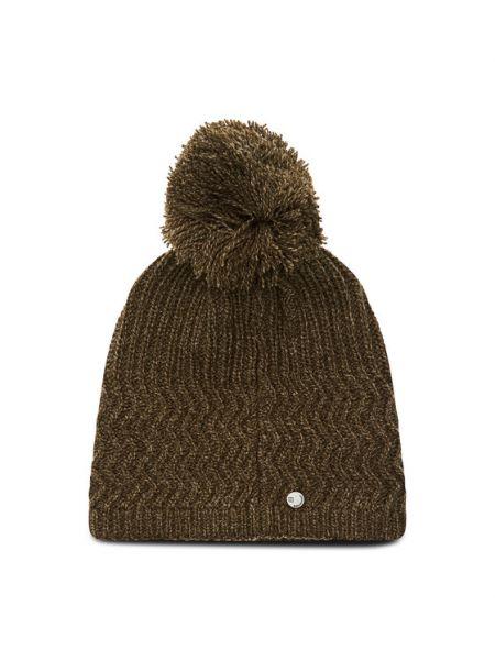 Zielona czapka Salomon