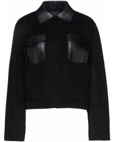 Черная шерстяная куртка Theory