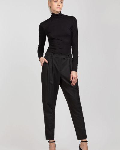 Блузка из вискозы черная Vassa&co