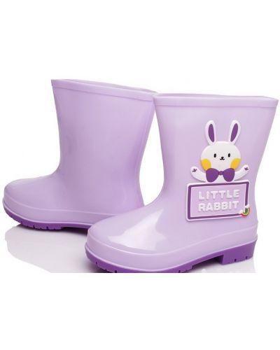 Шерстяные фиолетовые сапоги Kidsmix