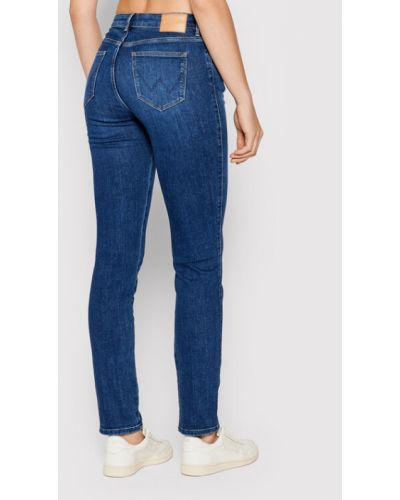 Mom jeans granatowe Wrangler