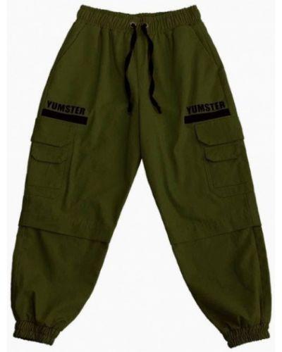 Зеленые брюки Yumster