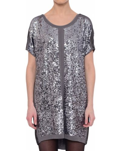 Платье серебряного цвета Patrizia Pepe