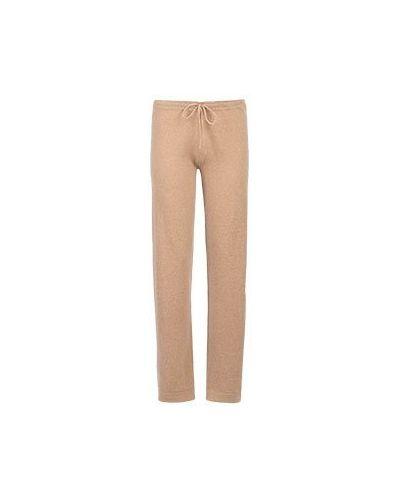 Кашемировые брюки - бежевые Not Shy