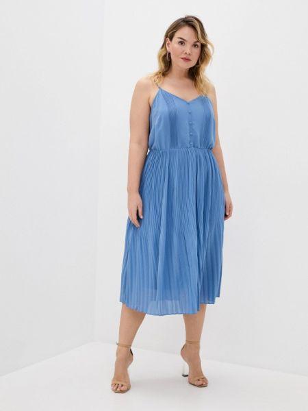 Синее повседневное платье Studio Untold