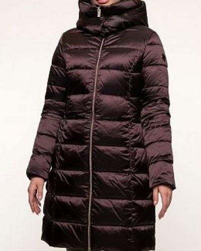 Пуховик-пальто - коричневый Madzerini