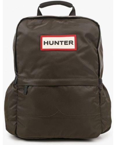 Текстильный городской рюкзак хаки Hunter